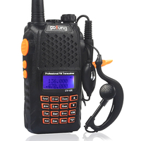 7w high quality portable radio walkie talkie uv6r uhf vhf interphone handy talkie walkie