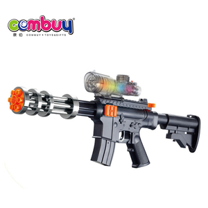 Electric water bullet crystal bomb toy gun with light