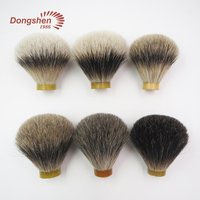 High quality nice different grade badger hair shaving knots