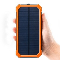 2019 new High Capacity slim polymer outdoor portable solar power bank dual usb 20000mah Power Pack Charger