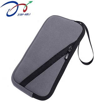 Multifunctional Cell Phone Bag Promotion Pattern Insulated Mobile Phone Bag Zipper Neoprene Pouch Portable Pocket Waterproof