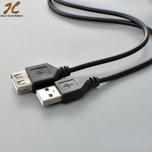 USB Verlengkabel Super Speed USB 2.0 Kabel Man-vrouw 1 m <span class=keywords><strong>Data</strong></span> Sync USB 2.0 Extender Cord Extension kabel