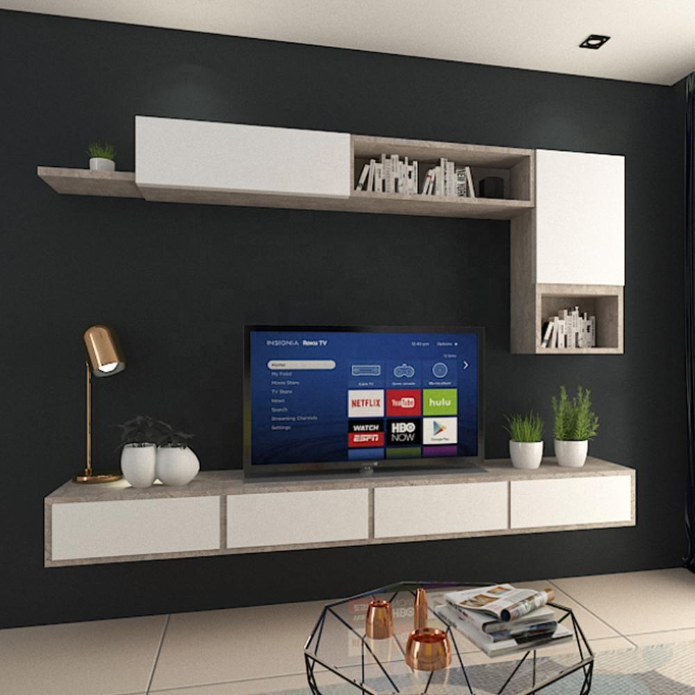 parete porta tv angolare all\'ingrosso-Acquista online i ...
