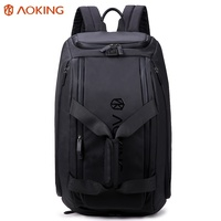 aoking 32L large capacity waterproof gym travel duffel bag mens sport travel bag with shoe compartment