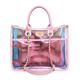 2019 OEM latest style bag wholesale women shoulder bag designer jelly satchel candy handbags for girl