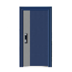 High security House Front Entry Exterior Security Steel Door