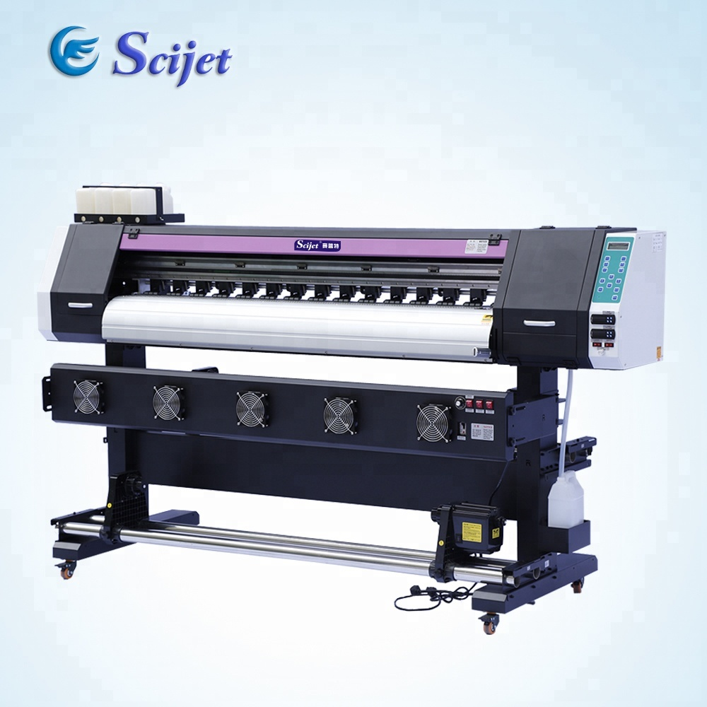 Hot-selling!! Vinyl Sticker Plotter Printer SJ-1600 met Dx5 hoofd, 1440 dpi