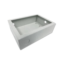 Steel Container Metal Junction Box Custom Machined Aluminum Box