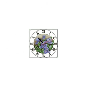 NKF Iris clock face cross stitch kits fashionable canvas painting cross stitch wholesale