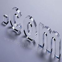 Laser cut acrylic letter customized