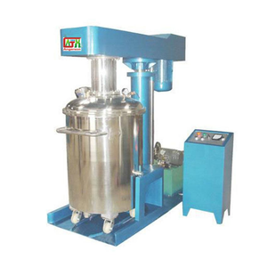 Vacuum mixer/variable speed disperser/dissolver for paramagnetic paint