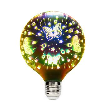 3D e27 Firework LED bulb,colorful,Decorative Filament star light,starry sky,for Home Christmas holiday party wedding