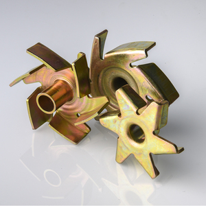 Vertical stainless steel water pump brass impeller casting