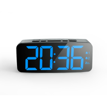Grosir <span class=keywords><strong>Murah</strong></span> Plastik Layar Digital LED Portable <span class=keywords><strong>Alarm</strong></span> Clock