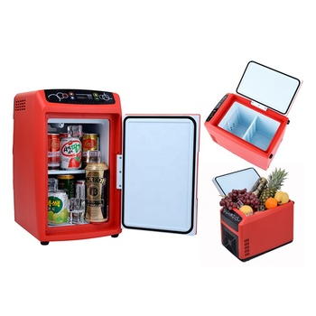 Portable Cooler Warmer Car Fridge Travel Refrigerator Electric Truck  Freezer 12l - Buy Electric Mini Travel Freezer,12v Car Fridge Freezer,12v  Fridge