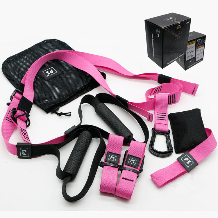 Fitness Übung Hängen Strap Suspension Trainer Hängen Widerstand Band Festigkeit Trainer Suspension Straps Kits