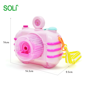 Hot Sale Camera Electric Light Music Wedding Baby Bath Toy Bubble Machine Professional