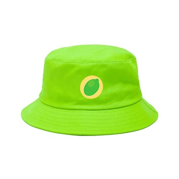 e8738db90b0 Kaavie fruit print cotton children bucket sun hat emoji kids bucket hats  5-7 years
