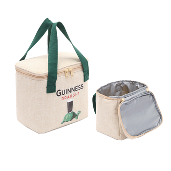Customized logo printing Hessian Jute Cooler Bag insulated food delivery cooler bag