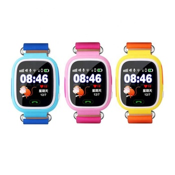 Factory price New Children's Smart Watch mobile phone Touch Screen GPS Positioning WIFI Q90