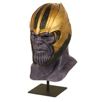 War 4 Endgame Thanos Mask Cosplay Helmet Marvel Superhero Latex Masks Infinity Gauntlet Halloween Party Deluxe Props