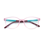 Glasses Optical Manufacturer Flexible Myopia Square Frame Eyeglasses for kids