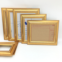High Quality Gold Color Ps Moulding Picture Frame