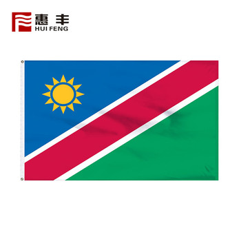 all world national flags 3x5 , all world national Namibia flag