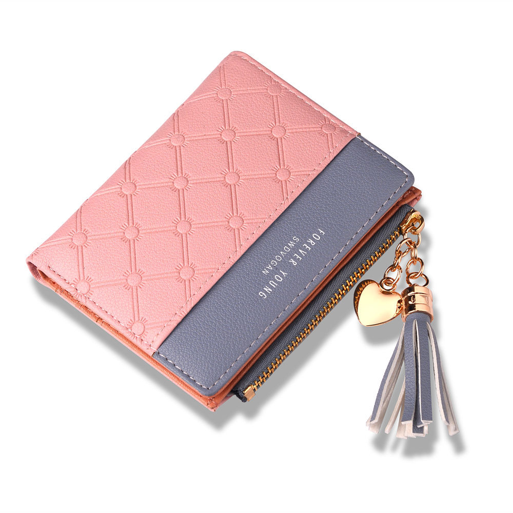 New design women <strong>wallet</strong> tassel coin purse and card holder multiple <strong>wallet</strong>