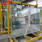 China factory supplier export product Australia UAE good quality tempered low iron glass toughened ultra clear glass