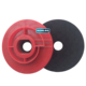 Rigid Type Snail Lock ABS Plastic Polish Backing Pads For Grinder