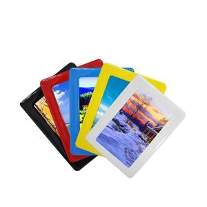 Magnetic Photo Picture Frames and Refrigerator Magnets,Holds for Refrigerator , Fridge, Office Cabinet, Black