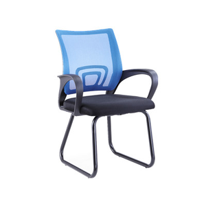 factory price mid back office waiting room conference meeting ergonomic bow leg office mesh chair
