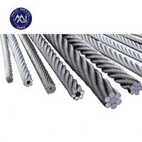 12 strands braided steel Wire Rope price (12*19W), steel wire competitive price offer