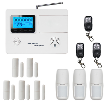 Wireless Burglar System Remote Control Smart Gsm Wifi Alarm Hoem Security System
