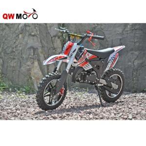 QWMOTO 49cc kids motorcycle 2 stroke 49cc mini gas kids dirt bike for cheap sale (QWMPB-02A)