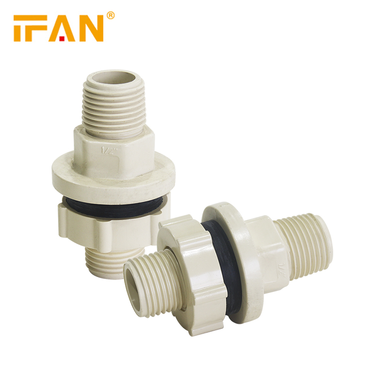 Gold Suppliers Wholesale Cpvc Male Tank Coupling Astm D2846 Male Thread Socket CPVC Pipe <strong>Fitting</strong>
