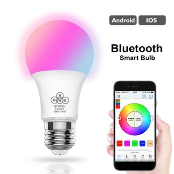 E27 Smart Bluetooth smart home lighting wireless WIFI RGB led wifi bulb
