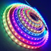 Factory Shenzhen ip68 led rgb strip waterproof for pool with aluminum heat sink 5050 300leds sk6812 5v