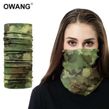 Multi-purpose Custom Headwear Design Your Own Face Mask Camo Magic Tube Bandana