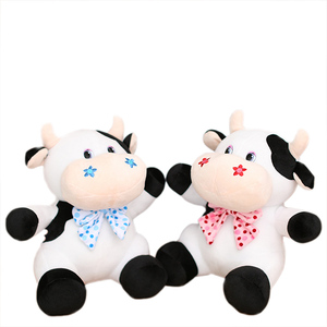 cute cow bull plush toys stuffed cattle ox soft toys gift