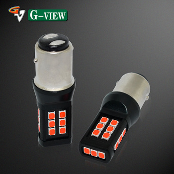 G-View Small Led Bulb 12V BAY15D 1157 Brake Tail Light