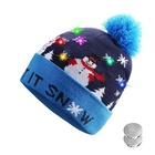 Hot selling OEM new design unisex custom winter hat knitted beanie christmas knitted hat