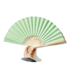 Plain Bamboo Paper fan, Folding fan color,Promotion gift