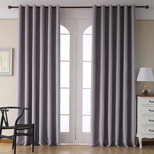 Good Design Curtains For Bedroom Windows Blackout Drapes Fabric Solid Color Black Out Curtains Living Room Ready Made