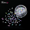 Wholesale Special Shape Glitter for Nail Makeup Body Art Guitar Shape Nails Glitter Sequins Nail Art Decoration