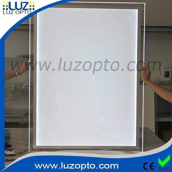 acrylic poster frames with lighta2 led acrylic frame wall mountplastic poster frame