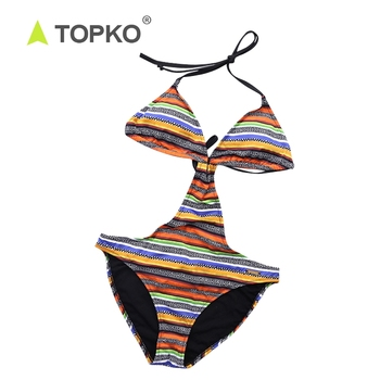 TOPKO Wholesale bathing suits reflective japan tiny sexy beachwear swimming wear bikini