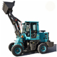 China articulated mini wheel loader zl-10 with shovel bucket
