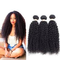 Free Sample Indian Curly Raw Human Hair Extension